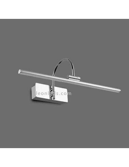 Aplique alumbra cuadrados LED Cromado Paracuru