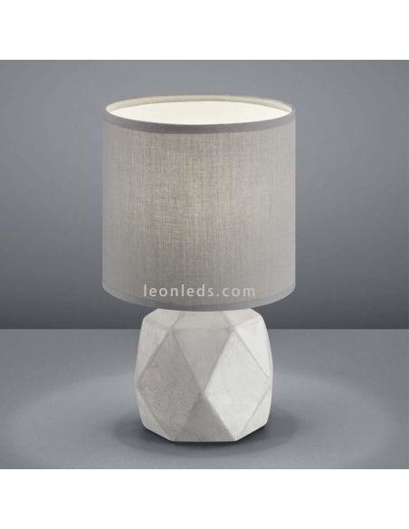 Lámpara de sobremesa Cemento y Gris R50831087