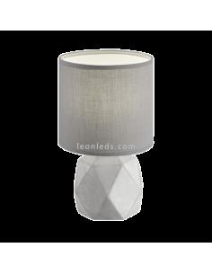 Lámpara de sobremesa Cemento y Gris serie Pike R50831087