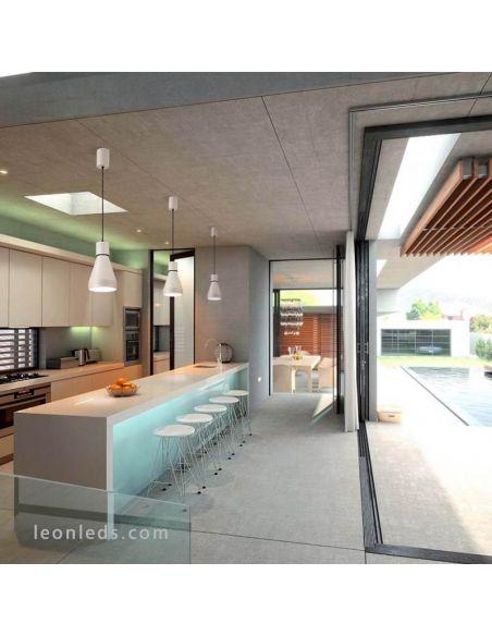 Ambiente Lámpara de techo Lineal 3 Luces serie Kos