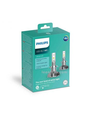Bombillas LED H7 Philips Ultinon