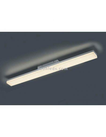 Plafon LED alargado con mando a distancia serie Toledo de Trio Lighting