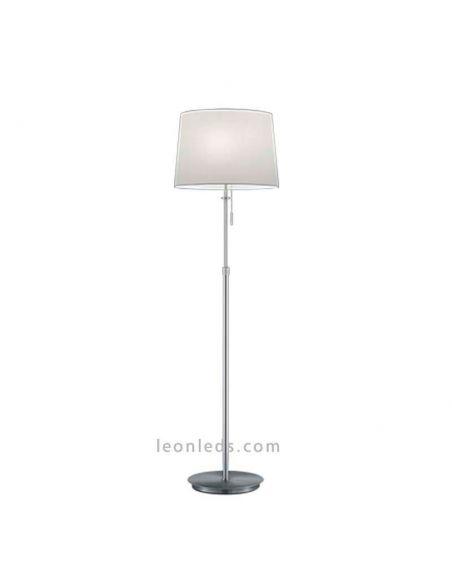 Lámpara de pie Níquel Mate Lyon