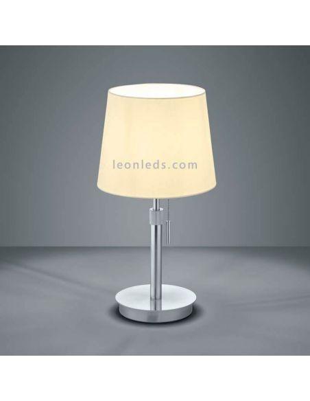 Lámpara de sobremesa Lyon Níquel
