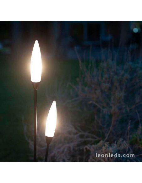 Lámpara de pie para exterior Espiga de Mantra 6547