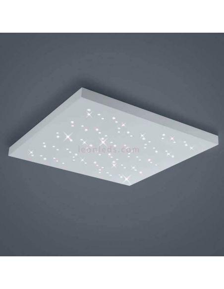 Plafón LED cuadrado Blanco Titus