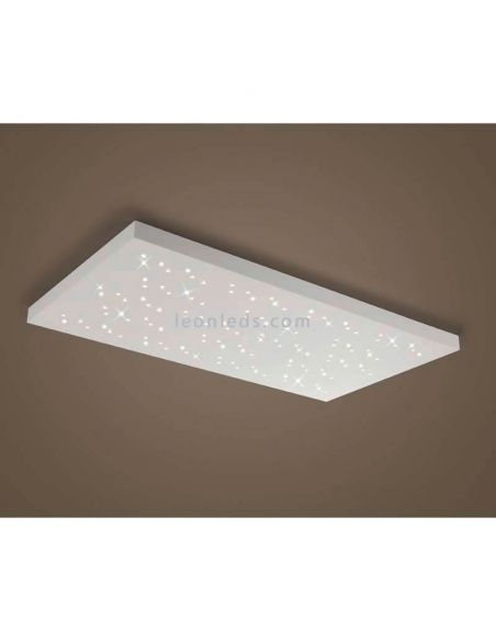Plafon LED Titus rectangular Blanco