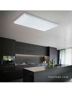 Plafon LED rectangular blanco Titus Trio Lighting