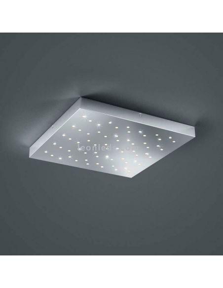 Plafón LED Cromado serie Titus Trio Lighting