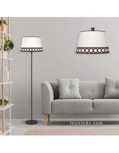 Lámpara de techo Marrón y Beis Dalia
