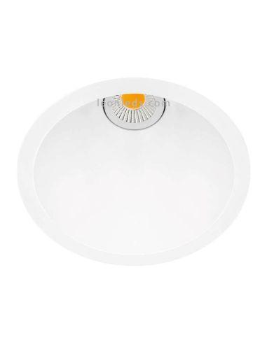 Downlight Swap LED Arkos Light talle M 5W Blanco Negro Dorado Gris metalizado Rojo | LeonLeds Iluminación