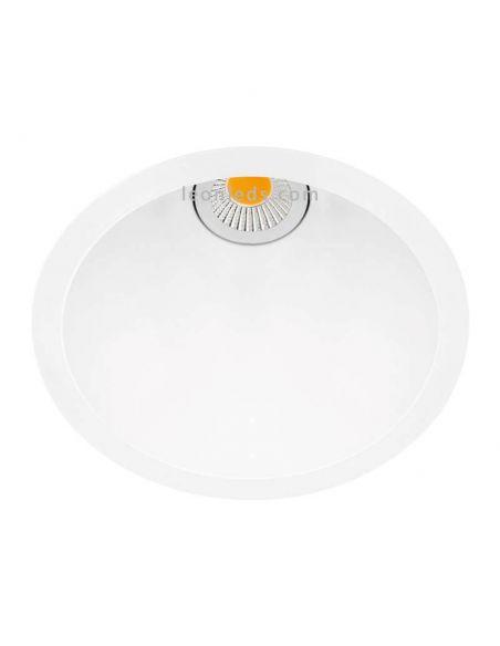 Downlight Swap Arkos Light LED Empotrable diseño 7,5w talla M de colores Blanco Rojo Dorado Negro | LeonLeds
