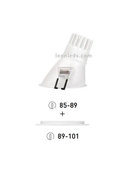Swap L Asimetrico 7W de ArkosLight ¡Personaliza tu Swap! | LeonLeds Iluminación