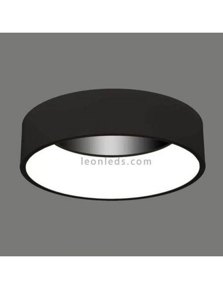 Plafón LED negro serie ACB Iluminación