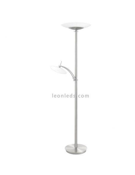 Lámpara de pie LED potente Elina Trio Lighting