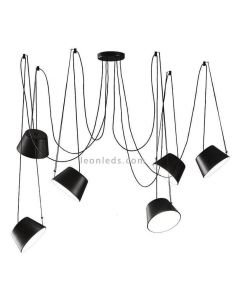 Lámpara de techo 6 luces Sento FM Iluminación