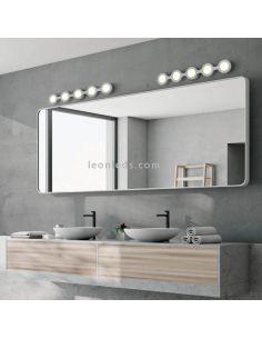 Aplique LED moderno para espejo Abbi