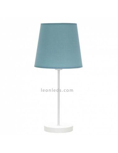 Lámpara de sobremesa Turquesa de Fabrilamp