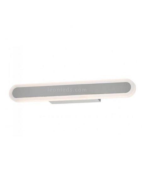 Aplique LED de baño cromado Adela