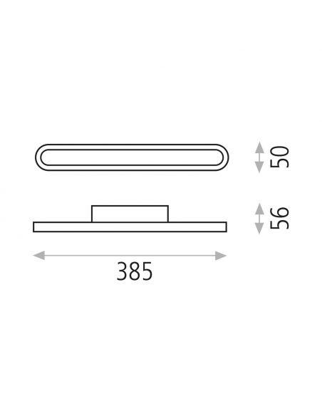 Aplique LED para baño Adela ACB Iluminación