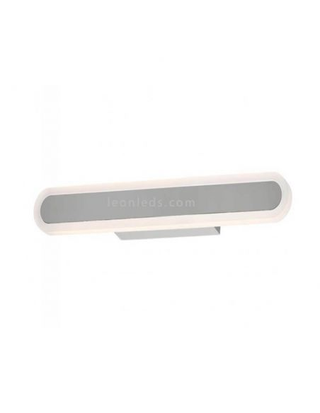 Aplique LED para espejo de baño rectangular Adela