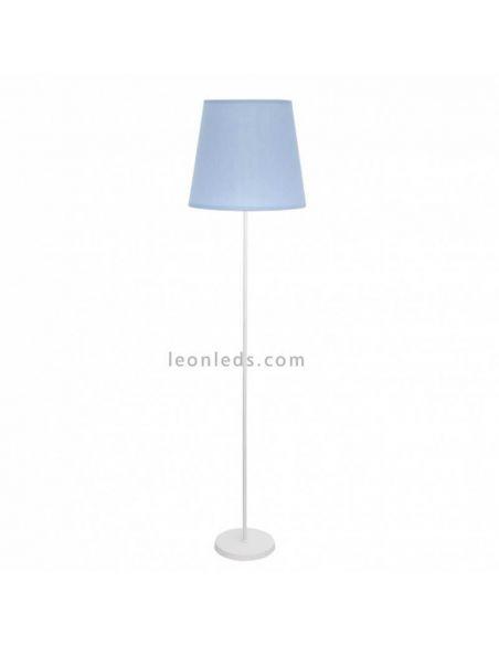 Lámpara de Pie Celeste de Fabrilamp | LeonLeds Iluminación