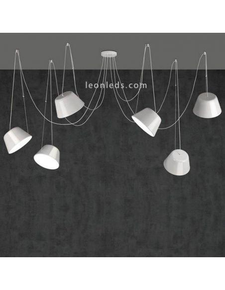 Lámpara de techo sento Blanca de ACB iluminación