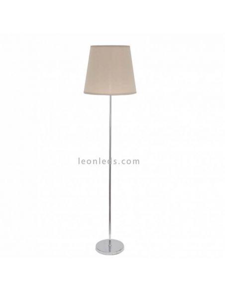Lámpara de Pie Cromada serie Malddivas | LeonLeds Iluminación