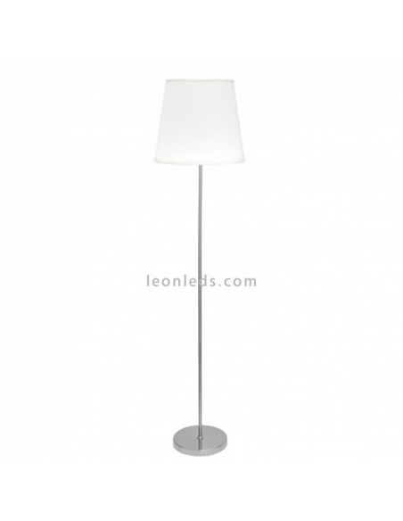 Lámpara de pie Blanca moderna serie Maldivas | LeonLeds Iluminación