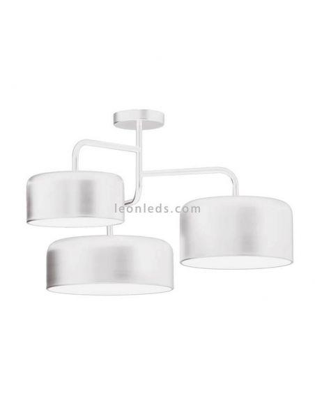 Lámpara de techo blanca serie Tono de FM Iluminación