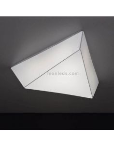 Plafon led de techo triangular grande serie Tana Ole¡ By FM Iluminación