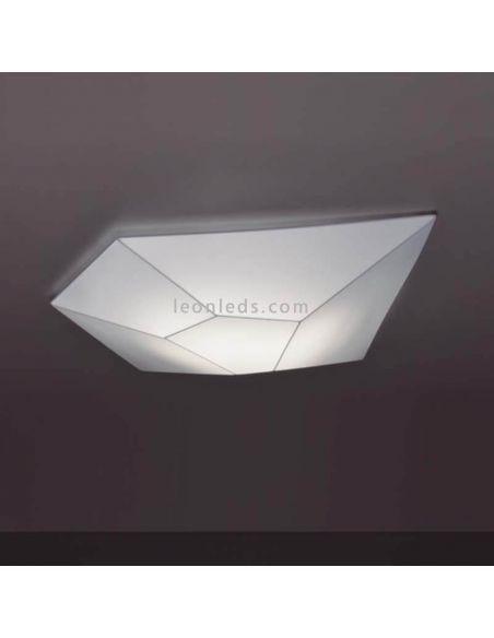 Plafón LED moderno serie Halley de FM Iluminación