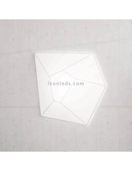 Plafón grande de estilo moderno serie Halley de Ole¡ By FM Iluminación