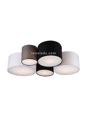 Plafon de techo salón serie Hotel de Trio Lighting | LeonLeds.com