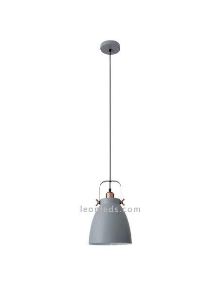 Lámpara de techo gris industrial Getting