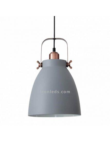 Lámpara de techo industrial Gris Getting