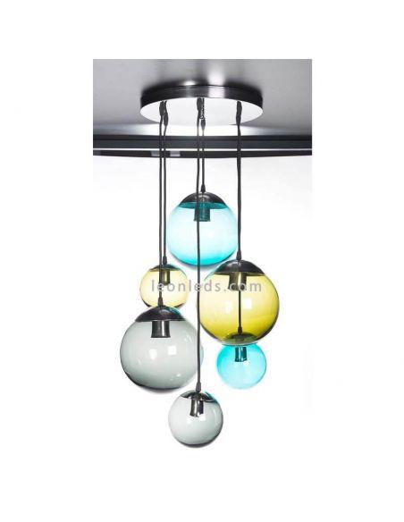 Lámpara de cristal Banca LeonLeds