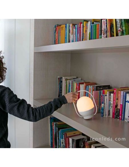 Lámpara de sobremesa pórtatil | LeonLEds.com