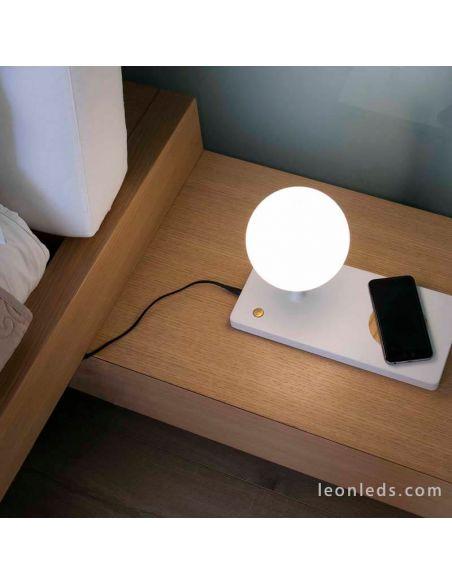 Lámpara de sobremesa Niko de Faro Barcelona | LeonLedslamparasdesobremesa