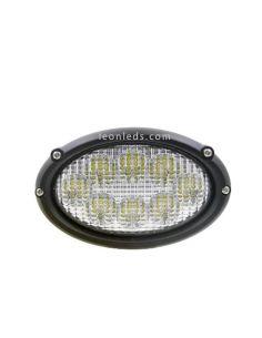 Faro Ovalado LED empotrable Massey Ferguson