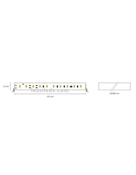Tira LED 220V corte cada 10Cm 16W/m al corte