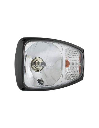 Faro Delantero halógeno 24V con soporte trasero al mejor precio  LeonLeds Iluminación