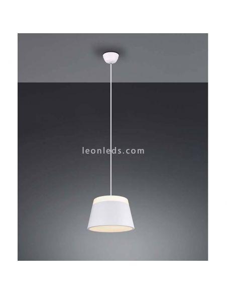 Lámpara de techo blanca Barones