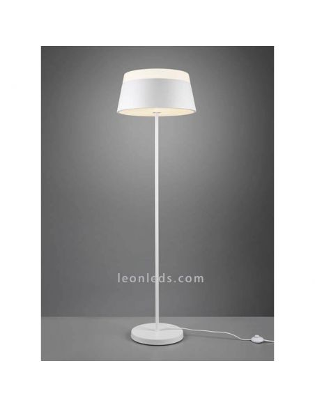 Lámpara de techo blanca baroness