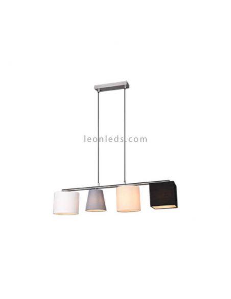 Lámpara colgante Conny  colores de Trio Lighting | LeonLedsiluminacion
