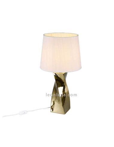 Lámpara de sobremesa Abeba grande de Trio Lighting | LeonLeds.com