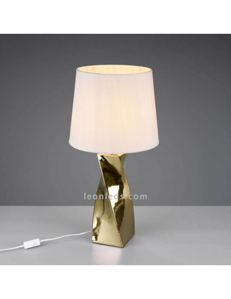 Lámpara de sobremesa Abeba grande de Trio Lighting   LeonLedsiluminacion