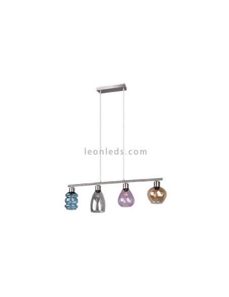 Lámpara de techo Coral cristal de Trio lighting | LeonLedsiluminacion