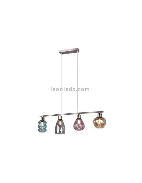 Lámpara de techo Coral cristal de Trio lighting | LeonLeds.com