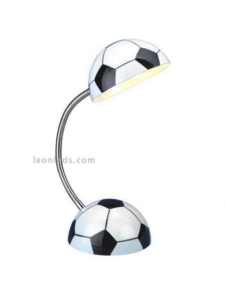 Lámpara de sobremesa balón de champion |LeonLeds.com